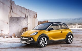 Get your Rocks off: Chunky Vauxhall Adam due for Geneva unveiling