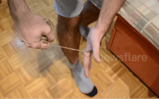 How to cut string without using scissors