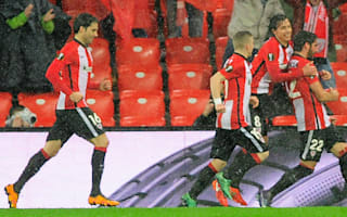 Athletic Bilbao 1 Valencia 0: Neville's men slip up in soggy Bilbao