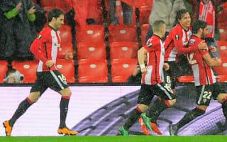 Athletic Bilbao 1 Valencia 0: Neville's men slip up in soggy Bilbao