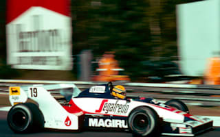 Ayrton Senna's first F1 car offered for sale