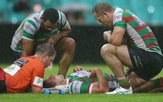 Burgess sent for scans after neck injury