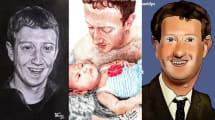 Mark-Zuckerberg-Fankunst: Der Konzernchef als Posterboy