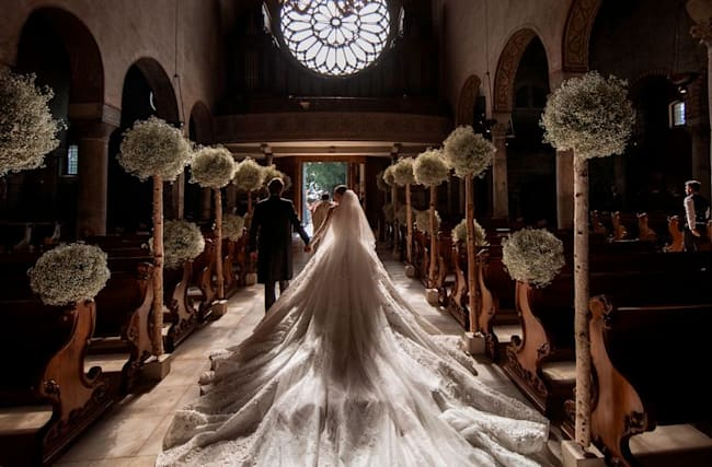 Swarovski heiress marries in multimillion-pound wedding