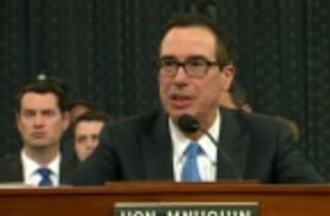 Mnuchin urges 'clean' debt ceiling hike by August break
