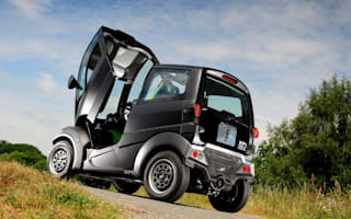 First official pictures of Gordon Murray's city car released