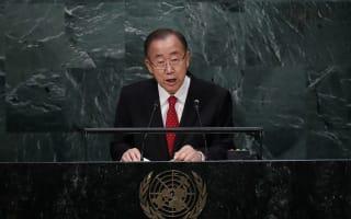 UN secretary general Ban Ki-moon warns of 'atrocities against civilians' in Aleppo