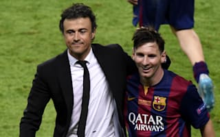 Luis Enrique: Messi finishing his career at Barcelona would be the perfect story