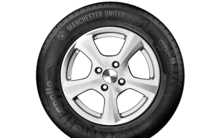 Manchester United launches branded tyre