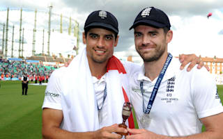 Captain Cook has transformed England approach - Anderson
