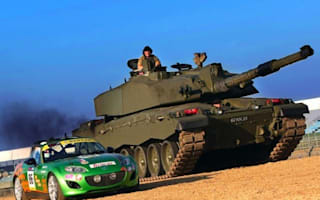 Tank provides welcome support for Mazda Britcar race entry