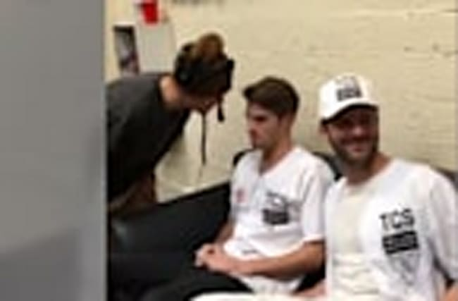 Justin Bieber Gives the Chainsmokers Epic Pep Talk & Takes Over Z100 Jingle Ball
