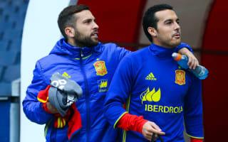 Jordi Alba hoping for Pedro return to Barcelona