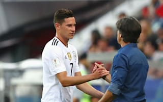 Draxler, Kimmich and Can lavish praise on ton-up Low