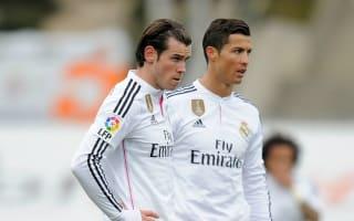 Ronaldo and Bale miss Madrid training