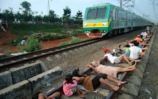 New kind of  spa treatment? Train track 'therapy' kicks off in Jakarta