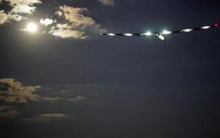 Solar plane starts flight across the Atlantic