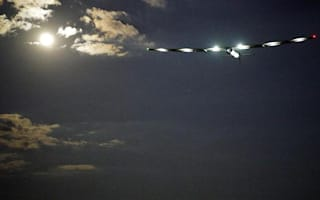 Solar plane starts flight across the Atlantic