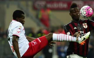 AC Milan 0 Carpi 0: Brocchi's men frustrated by strugglers