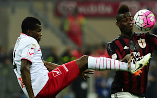 AC Milan 0 Carpi 0: Brocchi's men frustrated by strugglers