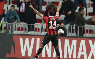 Nice 3 Toulouse 0: Plea strikes again as hosts go top