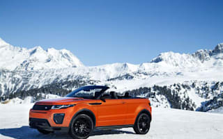 First Drive: Range Rover Evoque Convertible