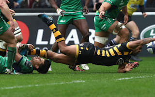 Beale in the thick of it on long-awaited Wasps debut