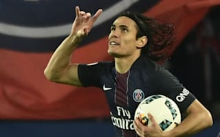 Paris Saint-Germain 2 Nice 2: Cavani double spares champions' blushes