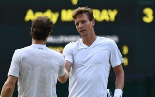 Berdych: Murray can win Wimbledon