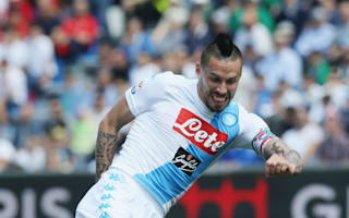 Sassuolo 2 Napoli 2: Milik rescues Sarri's side after Hamsik howler