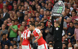 Coquelin ready to fight Xhaka for Arsenal place