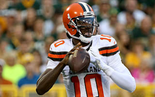 Browns place RGIII on injured reserve with shoulder injury