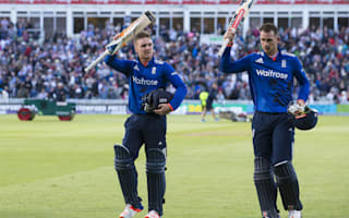 Morgan praises 'exceptional' Hales and Roy
