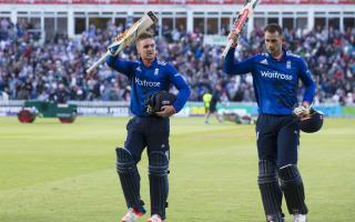 Morgan praises 'exceptional' Hales and Roy