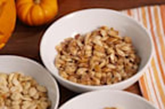 3 Ways To Spice Up Roasted Pumpkin Seeds
