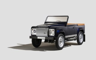 How much? Land Rover make £10,000 pedal car