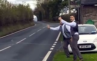 Best men make epic trip to retrieve 'lost' wedding speeches