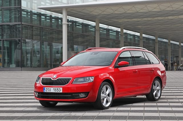 Skoda Octavia estate gallery