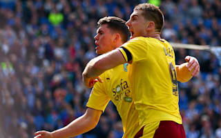 Football League Review: Burnley rescue a point, Wigan top League One