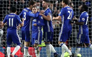 Conte unsurprised by Hazard form