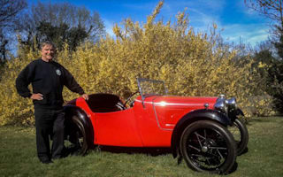 Austin 7 owner to make 50th appearance at rally
