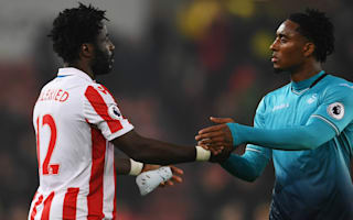 Bony 'disappointed' to down old club Swansea