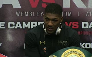 Joshua knocks out Klitschko in Wembley epic