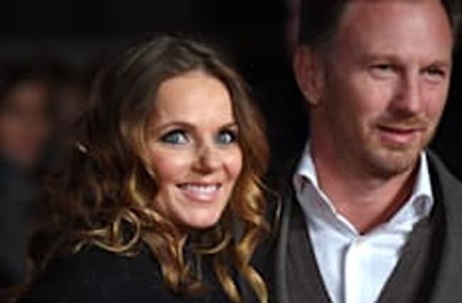 Geri Horner names newborn baby boy after her close friend