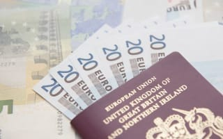 Holidaymakers warned as less than one euro to the pound at airports