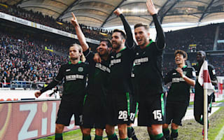 Bundesliga Review: Hannover snap losing streak, Bayern march on