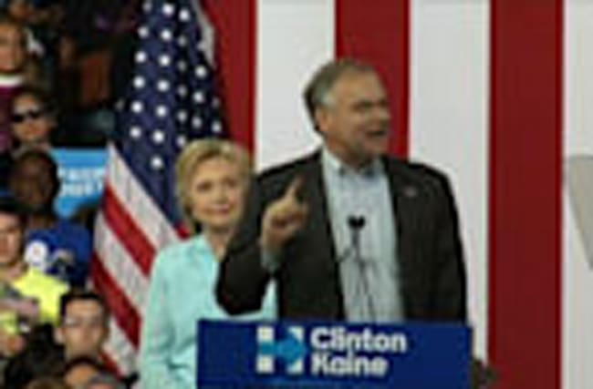 Kaine: Clinton is 'Opposite of Trump'