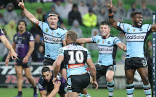 Sharks weather Storm in sodden Grand Final repeat