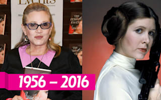 Carrie Fisher's books claim bestseller spots hours after her death