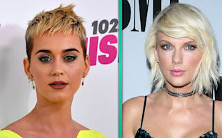 Katy Perry on Taylor Swift feud: 'I'm ready to let it go'